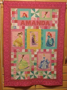 A Princess quilt for a Princess.