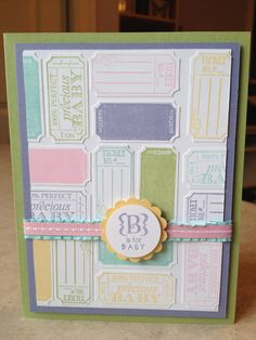 Catherine Loves Stamps: That's The Ticket, Occasions Alphabet, Ticket Duo Punch
