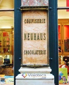 Conhecendo a Bélgica : Chocolates Neuhaus - Viajoteca