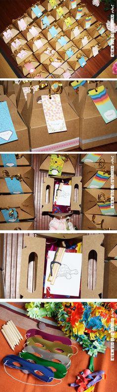 Wedding kids box - aw! Definitely doing this!