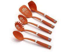 Rachael Ray Tools & Gadgets 5-pc. Tool Set: Orange at Rachael Ray Store