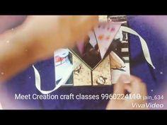 Trishutter mini scrap album - YouTube Creation Crafts, Scrap, Album, Make It Yourself, Mini, Videos, Youtube, Cards, Blog