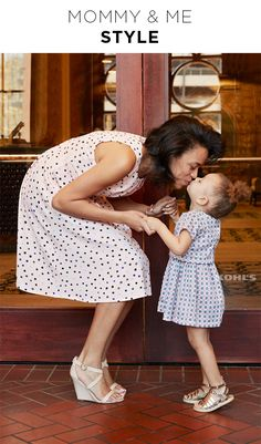 Mother's Day brunch is the perfect time to debut adorable mommy-and-me style. Whether you're matching head to toe or just coordinating cute outfits, it's time to pull out your best sundresses and sandals. Celebrate Mother's Day with Kohl's.
