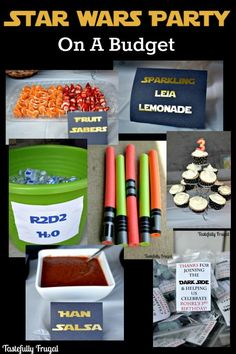 Star Wars Party on a Budget: If you've got a Star Wars fan with a birthday coming up, or you're planning a May the Fourth get together, you do not want to miss this post!