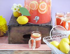 Lemon Party Theme - try this Spring...