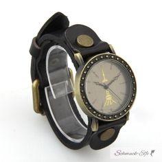 Damen Armbanduhr TOWER schwarz