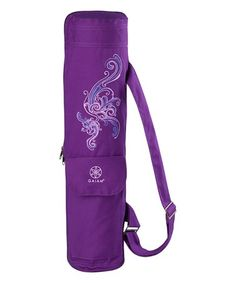 Grab your mat with ease with this updated version to our beloved classic mat bag featuring a full-zip closure for easy access to your mat and other yoga essentials. Keep your mat clean, dry, and portable with our Deep Plum Surf Cargo Yoga Mat Bag.