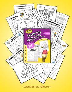 $ Mastering Math Facts: Multiplication and Division - What if 100% of your students learned their times tables this year? It can happen! This system worked for me and I know it can work for you, too! ~ Laura Candler