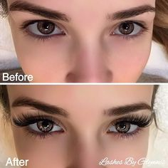 Dramatic! Eyebrow Extensions, Eyelash Extensions Styles, Eyelash Extensions Before And After, Permanent Eyelashes, Fake Lashes, Best False Eyelashes, Eye Makeup, Hair Makeup, Beauty Makeup