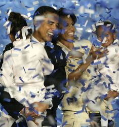 The year 2004 continued to be a big year for the Obamas as Barack beat Alan…