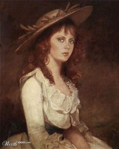 Susan Sarandon | 25 Classic Paintings Improved By Celebrities