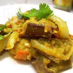 Photo recette : Aubergines au curry (Baingan Bharta)