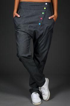 Kalhoty - ATOMRAT 1090 Parachute Pants, Blues, Outfits, Fashion, Acapulco, Moda, Suits, Fashion Styles, Fashion Illustrations