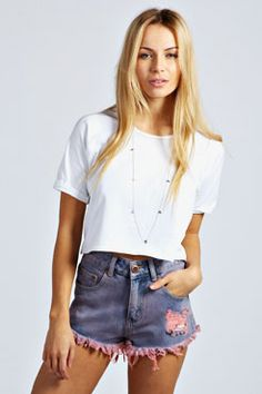 Love the Shorts...would look cute with a crop top