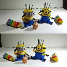 ♡♡made lovely minion miniature cake ♡♡ ♡♡♡ http://www.youtube.com/user/TheCLAYROOM  #miniature #polymerclay #food #fimo #clay #미니어쳐 #폴리머클레이 #miniaturefood #hellokitty #헬로키티 #miniaturebowls #fakesweets #airdryclay #clay #dollhouse  #handmade #핸드메이드 #이브미니어쳐 #인형의집 #돌하우스 #미니언 #minioncake #minion #미니온  #미니언즈케이크 #minions