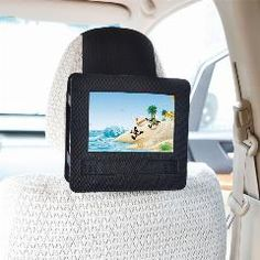 [ 23% OFF ] Tfy Car Headrest Mount Holder For Swivel And Flip Style 7 Inch Portable Dvd Player (Does Not Fit Sylvania Sdvd7027-C)
