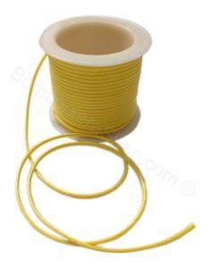 Cordino similpelle colore giallo bomboniere fai da te