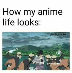 My and my poor anime. Nobody understands our relationship