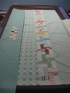 Hooked on Needles: Piecing a Quilt Backing ~ Do you?