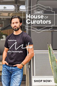 Lowe's #HouseofCurators brings adventurous, on-trend style home with an exclusive curation from Milo Ventimiglia. Shop the look now!