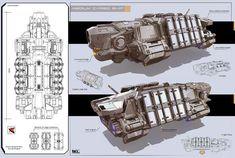 concept ships: Concept ships by KaranaK