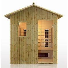 bamboo sauna.
