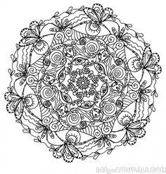More Mystical Mandalas Coloring Book By The Illustrator Of Original Mandala