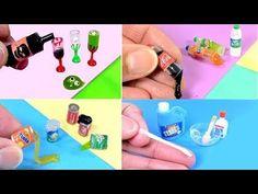 Làm thế nào để làm một Miniature Soda / Cola Chai - simplekidscrafts - YouTube