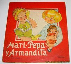 """PAR AMOUR DES POUPEES :: Mari Pepa Mendoza, 1936, poupée du magazine """"Flechas y Pelayos"""""""