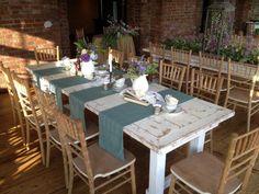Old White Farm Table