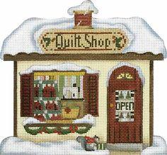 Melissa Shirley Designs | Hand Painted Needlepoint | Quilt Shop ©Debbie Mumm