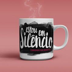 Caneca Silêncio - HC Store