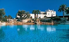 Masseria San Domenico (Savelletri di Fasano) - This hotel is about thirty eight miles from Trulli country on the Mediterranean coast of Puglia
