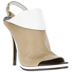 BALENCIAGA open toe sandal (£476) found on Polyvore