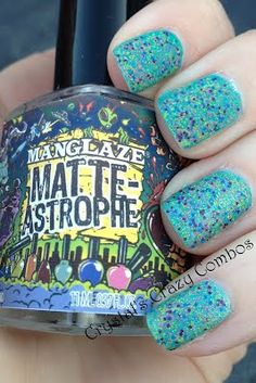 Crystal's Crazy Combos: Zoya, Pretty & Polished, and ManGlaze combo!
