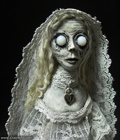 Ghost Art Doll 1 – Annabel Lee by Shain Erin, via Flickr