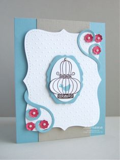 just love the top note die and aviary stamp set