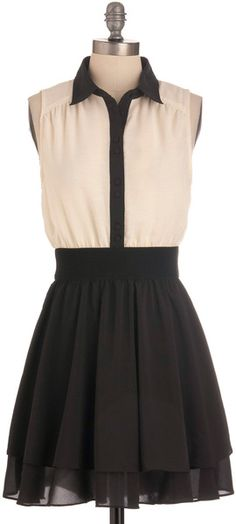 Think Contrast Dress $50