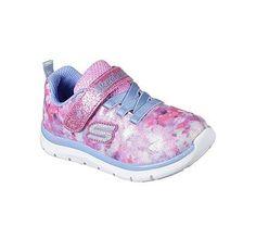 Skechers Kids' Skech Lite Blossom Cutie Sneaker Toddler/Pre School Shoes (Pink/Multi)