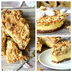 Das Essperiment: Frühlingsliebe ♥ Der allerbeste Rhabarberkuchen aller Zeiten - oder wenn Puddingcreme und Buttersreusel sich vereinen ♥