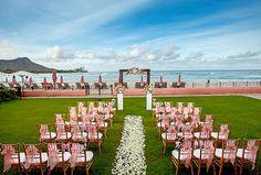 Wedding Ocean Lawn