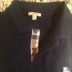 a91a273d Men's Burberry Brit Polo - Navy Size:XL - 'Classic' fit but I would say  runs more of a tailored fit. One of my favorite shirts in great condition.