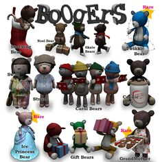 https://flic.kr/p/AwvL8y | Boogers Arcade Bears for December 2015 | \o/