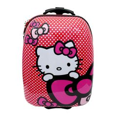 Hello Kitty Suitcase - Pink | the Hello Kitty Collectionary