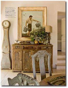 French Nordic Decorating | ... Setting Ideas, Swedish Decorating, Gustavian Decorating, Nordic Style