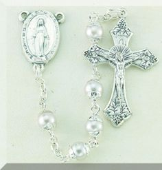 5mm Imitation Capped Pearl by Hirten | Catholic Shopping .com