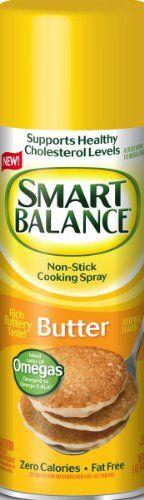 Smart Balance Non-Stick Cooking Spray-Butter Flavor-5 oz - http://www.darrenblogs.com/2016/08/smart-balance-non-stick-cooking-spray-butter-flavor-5-oz/