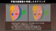 法線編集のメリット・デメリット Face Topology, Guilty Gear, Pets 3, 3d Tutorial, Character Modeling, New Pins, Pixel Art, Character Inspiration, Anime Characters