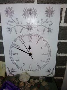 Klokke med motiv fra Nordlandsbunad/ watch with motive from the Nordlandsbunad norwegian lorecostume