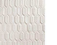 Walker Zanger - 'VIBE' - white gloss - ceramic tile 1x2,75 mesh backed